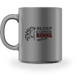 Sleep Coffee Riding Repeat