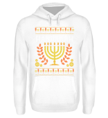 Ugly Christmas Candlestick Hanukkah