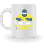 Welding! Its like sewing with fire