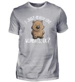 Really Like Wombats Ok? Beuteltier Liebe