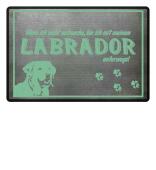 Fußmatte Labrador Hunde Pfoten Geschenk