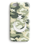 Kamuflaj Türk Bayragi Iphone Case Model3