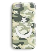 Kamuflaj Türk Bayragi Iphone Case Model3
