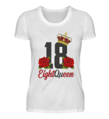 18. Geburtstag T-Shirt EightQueen