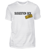 Suggestion Box - closed