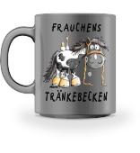 Frauchens Tränkebecken Pferd Tasse