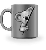 Süßer Koala Coole Koalabär Illustration