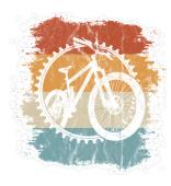 Retro Mountainbike Vintage MTB Sticker