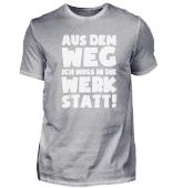 Geschenk Mechaniker: Muss in Werkstatt!
