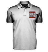 OBRLSTZ - Herrenpolo mit Bestickung