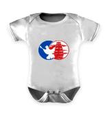 Baby Strampler mit Haba-Logo