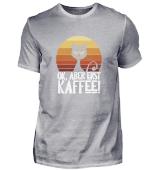 Ok Aber Erst Kaffee launische Katze
