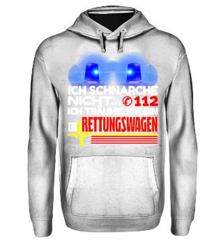 Rettungswagen schnarchen - T-Shirt
