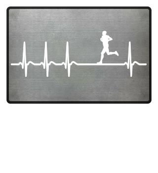 Heartbeat Jogging Jogger Marathon Cool