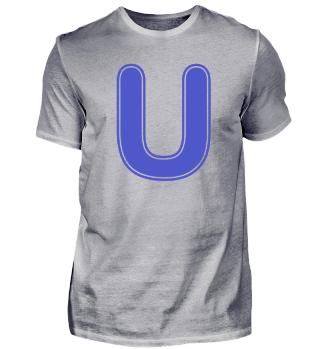 Alphabet - Letter - U