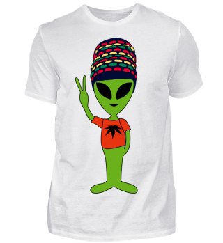 Peace Alien - Rastafari Friend