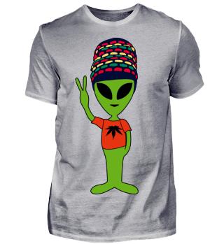Peace Alien - Rastafari Friend