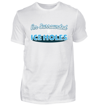 Funny ice fishing shirt