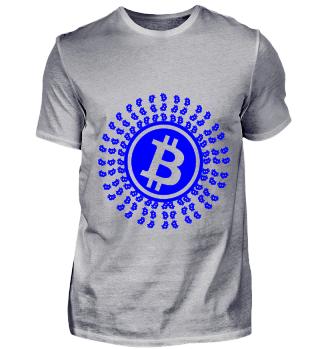 GIFT- BITCOIN CRYPTO BLUE
