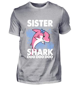 Sister Shark Song Geschenk