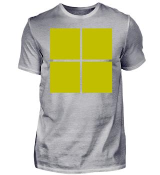 Trikot Idee Gelb Viereck