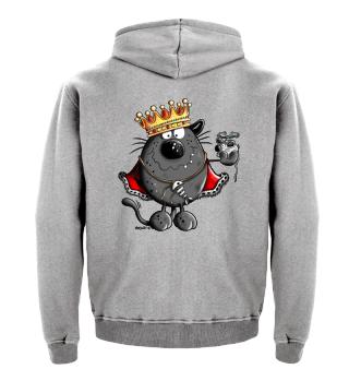 Katzen King - Katze - Chef - Geschenk