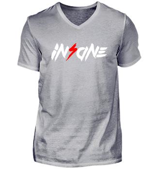 Insane V-Neck Shirt (Dark)