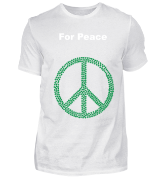 Weed for Peace. Smoking weed