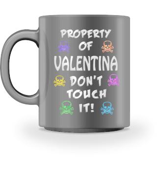 Property of Valentina Mug
