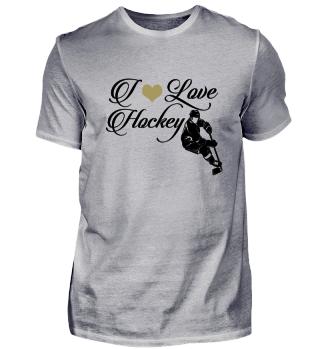 ☛ I LOVE HOCKEY #8SG
