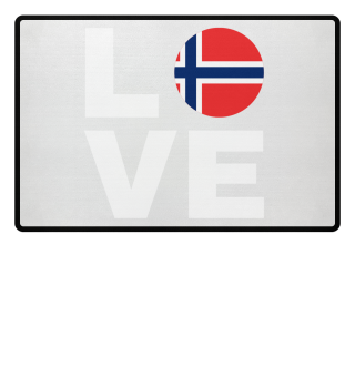 LOVE NORWAY - NORWEGEN LIEBE