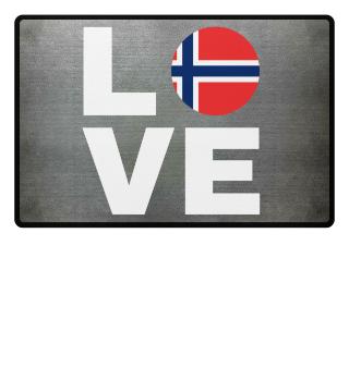 LOVE NORWAY - NORWEGEN LIEBE