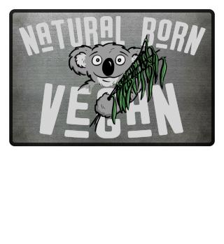 natural born vegan Koala Matte
