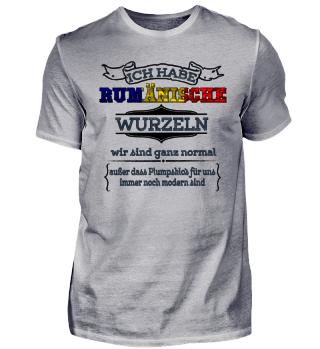 Ich habe rumänische Wurzeln - Rumänien Shirt