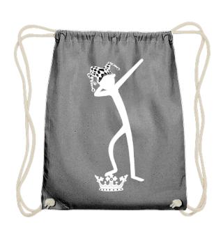 Dabbing Stick Figure - FOOL Crown II