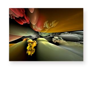 Abstract Landscape Fractal BIRTH Ib
