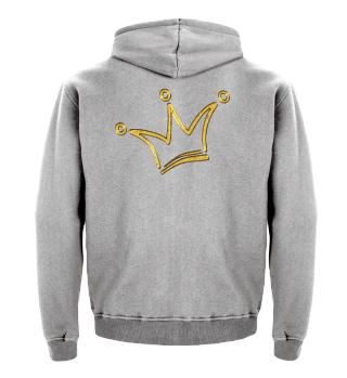 Funny Royal Comic Crown - gold