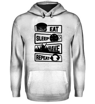 Eat Sleep Rave Repeat - Electro House