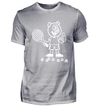 Tennis Player Pig
