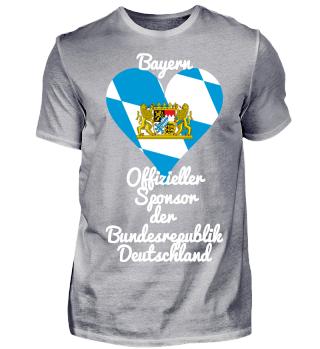 Bayern T-shirt Witziger Spruch