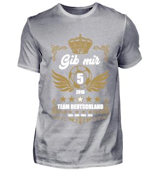 FUSSBALL SHIRT · GIB MIR FÜNF #2.3