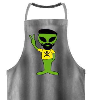 Peace Alien - Lives in France