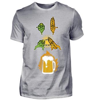 Hopfen und Malz Fusion zum Bier