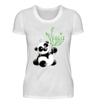 Veggie Panda Bärchen