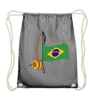 ★ Capoeira Berimbau Brazilian Flag 3
