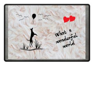 Fussmatte - A wonderful Whippet World
