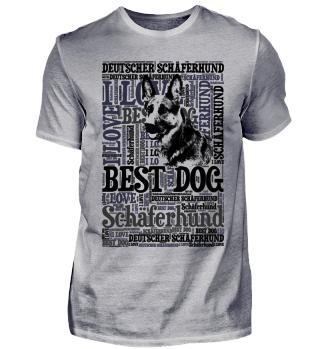 I love Deutscher Schäferhund T-Shirt