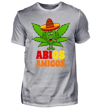 Abios Amigos mit Cannabisblatt