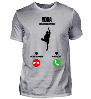 Telefon Yoga ruft mich! Sport Geschenk