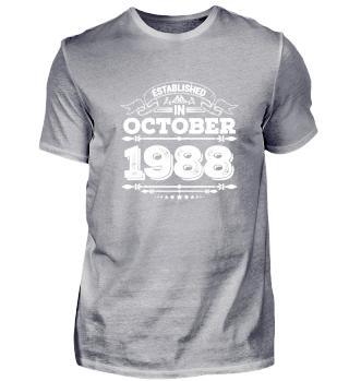 Established in October 1988